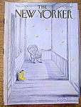 Click here to enlarge image and see more about item 8436: The New Yorker Magazine - November 5, 1979