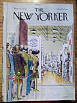 Click here to enlarge image and see more about item 8437: The New Yorker Magazine - November 12, 1979