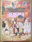 Click here to enlarge image and see more about item 8438: The New Yorker Magazine - October 8, 1979