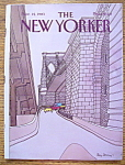 Click here to enlarge image and see more about item 8439: The New Yorker Magazine - November 14, 1983