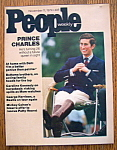 Click here to enlarge image and see more about item 8442: People Magazine - November 11, 1974 - Prince Charles