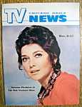 Click to view larger image of TV News - December 8-15, 1973 - Suzanne Pleshette (Image1)