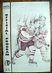 Click here to enlarge image and see more about item 8493: Chicago Blackhawks Program - 1967-1968