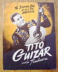 Click here to enlarge image and see more about item 8501: Tito Guizar And His Troubadors - 1940's