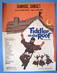 1965 Sunrise, Sunset (Fiddler On The Roof)