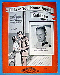 Sheet Music For 1936 I'll Take You Home Again Kathleen