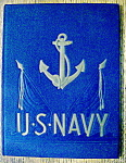 Click here to enlarge image and see more about item 8649: 1945 U. S. Navy Yearbook - Our Navy In Action