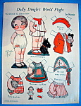 Click here to enlarge image and see more about item 8656: Dolly Dingle Paper Doll - March 1933 - In Russia