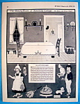 Click here to enlarge image and see more about item 8666: The Dining Room Of Sunshine Cottage Cut Out - June 1924
