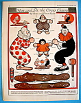 Click here to enlarge image and see more about item 8667: Slim & Sli, The Circus Clown Paper Dolls - January 1924