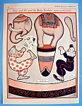 Click here to enlarge image and see more about item 8669: Slim & Sli, & The Elephant Paper Doll - March 1924