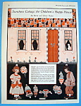 Click here to enlarge image and see more about item 8671: Sunshine Cottage, Children's Happi-House - April 1924