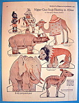 Click here to enlarge image and see more about item 8673: Nipper In Africa Paper Doll - January 1925