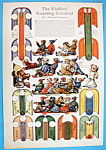 Click here to enlarge image and see more about item 8679: Kiddies' Koasting Karnival Paper Dolls - 1914