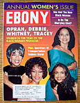 Click here to enlarge image and see more about item 8705: Ebony Magazine - March 1998 - Oprah, Whitney & More