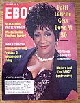 Click here to enlarge image and see more about item 8709: Ebony Magazine - November 1994 - Patti LaBelle At 50