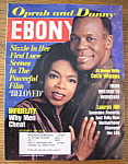 Click here to enlarge image and see more about item 8710: Ebony Magazine - November 1998 - Oprah & Danny