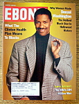 Ebony Magazine-March 1994-Hottest Black Star (Denzel)