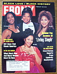 Click here to enlarge image and see more about item 8713: Ebony Magazine - February 1996 - Living Single Cast