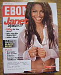 Click here to enlarge image and see more about item 8718: Ebony Magazine - April 2004 - Janet Jackson