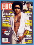 Click here to enlarge image and see more about item 8731: Ebony Magazine-January 2002-Lenny Kravitz