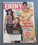 Click here to enlarge image and see more about item 8732: Ebony Magazine - January 1999 - Full Figured Revolution