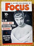 Click to view larger image of Focus Magazine August 5, 1953 Zina Rachevsky (Image1)