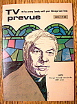 Click to view larger image of TV Prevue December 19-25, 1971 George Kennedy (Image1)