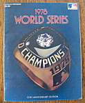 Click here to enlarge image and see more about item 8886: World Series Program 1978 Official Program