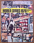 Click here to enlarge image and see more about item 8887: World Series Program 1976 Official Publication
