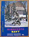 Click here to enlarge image and see more about item 8906: Minnesota Navy Gopher Goalpost October 6, 1962