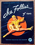 Click here to enlarge image and see more about item 8920: Ice Follies Program 1942 Shipstad & Johnson