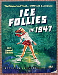 Click here to enlarge image and see more about item 8922: Ice Follies Program 1947 Shipstad & Johnson