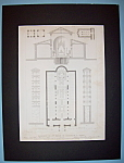 Basilique De St Marie In Cosmedin, A. Rome (Lithograph)