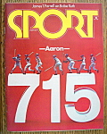 Click to view larger image of Sport Magazine May 1974 Hank Aaron: 715 (Image1)