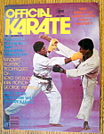 Click here to enlarge image and see more about item 9085: Official Karate Magazine December 1975