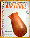 Click here to enlarge image and see more about item 9101: Air Force Magazine June 1952 Russian H Bomb