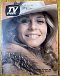 Click to view larger image of TV Week  February 15-21, 1976  Lindsay Wagner (Image1)