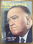 Newsweek Magazine December 7, 1964 J. Edgar Hoover