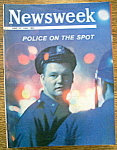 Newsweek Magazine June 27, 1966 Police On The Spot