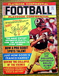 Click here to enlarge image and see more about item 9168: Football Playbook Confidential Magazine 1973