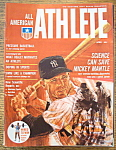 Click here to enlarge image and see more about item 9171: All American Athlete Magazine April 1964 Mickey Mantle