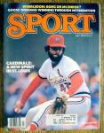 Sport Magazine-July 1981-Bruce Sutter