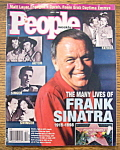 Click here to enlarge image and see more about item 9188: People Magazine - June 1, 1988 - Frank Sinatra