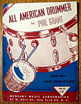 Sheet Music For 1950 All American Drummer - Book One