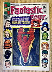 Fantastic Four Comics September 1966 Human Torch