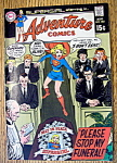 Click here to enlarge image and see more about item 9244: Adventure Comics August 1969 Stop My Funeral