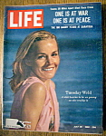 Click to view larger image of Life Magazine-July 26, 1963-Tuesday Weld (Image1)