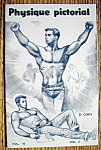Click here to enlarge image and see more about item 9291: Physique Pictorial-August 1960-Bodybuilder (Gay Int)