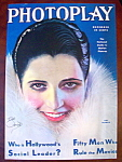 Click here to enlarge image and see more about item 9363: Photoplay Magazine Cover Dec 1930 Kay Francis